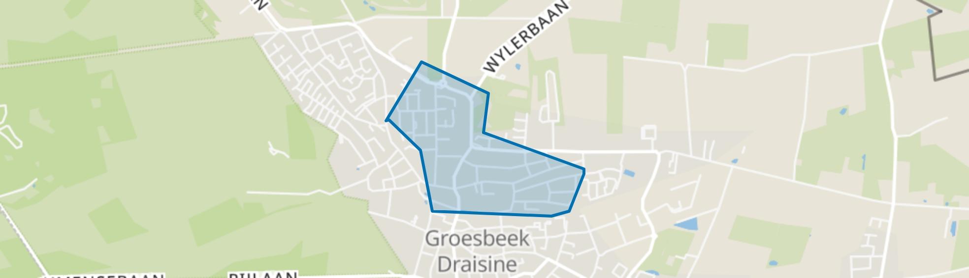 Groesbeek Centrum-Noord, Groesbeek map