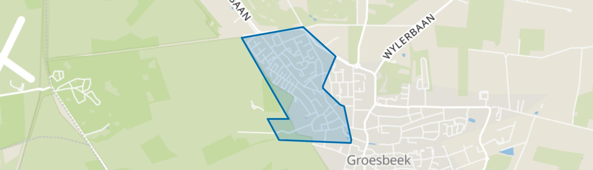 Groesbeek Stekkenberg, Groesbeek map
