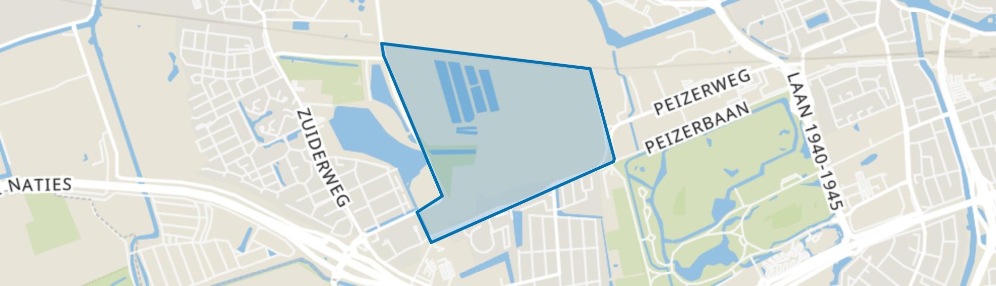 Bangeweer, Groningen map