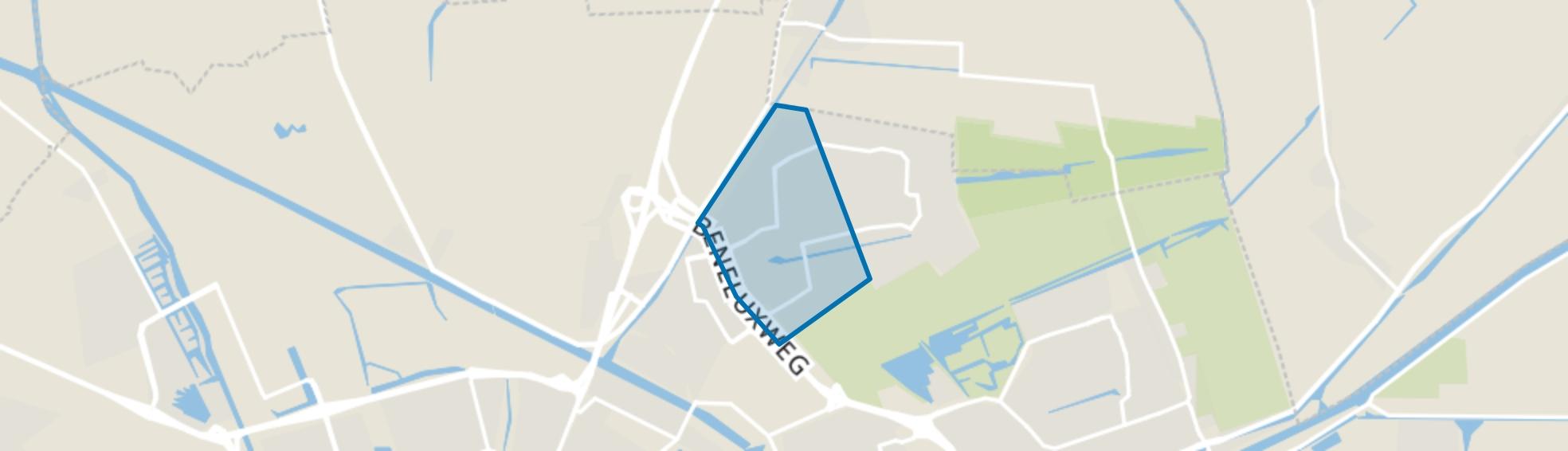 Beijum-West, Groningen map