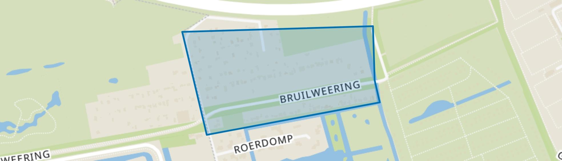 Bruilweering, Groningen map