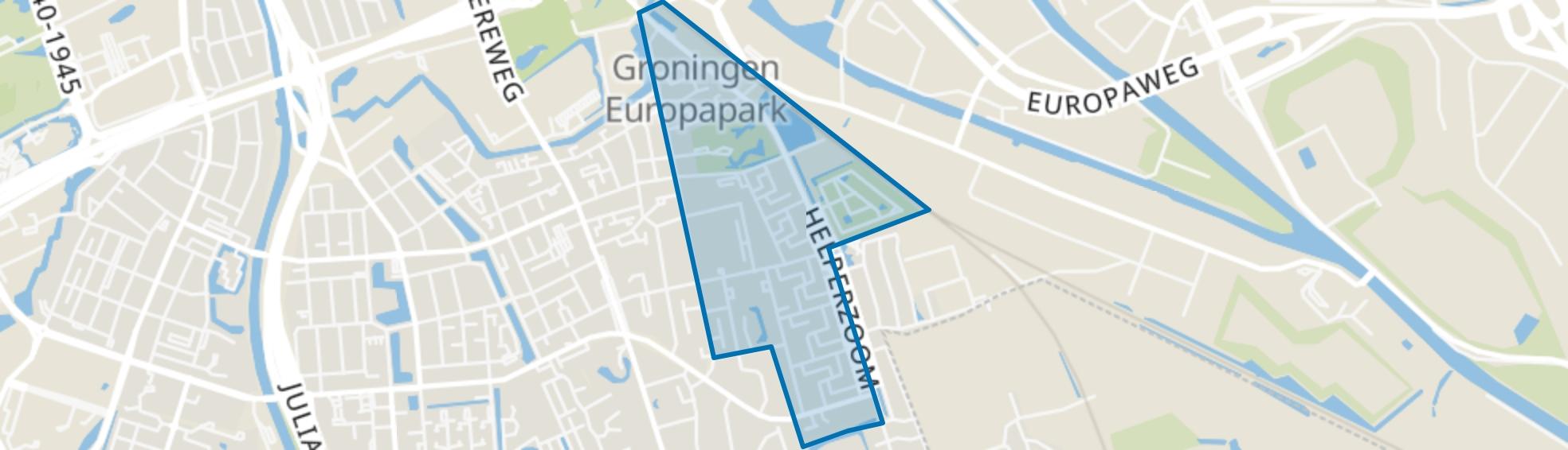 Coendersborg, Groningen map