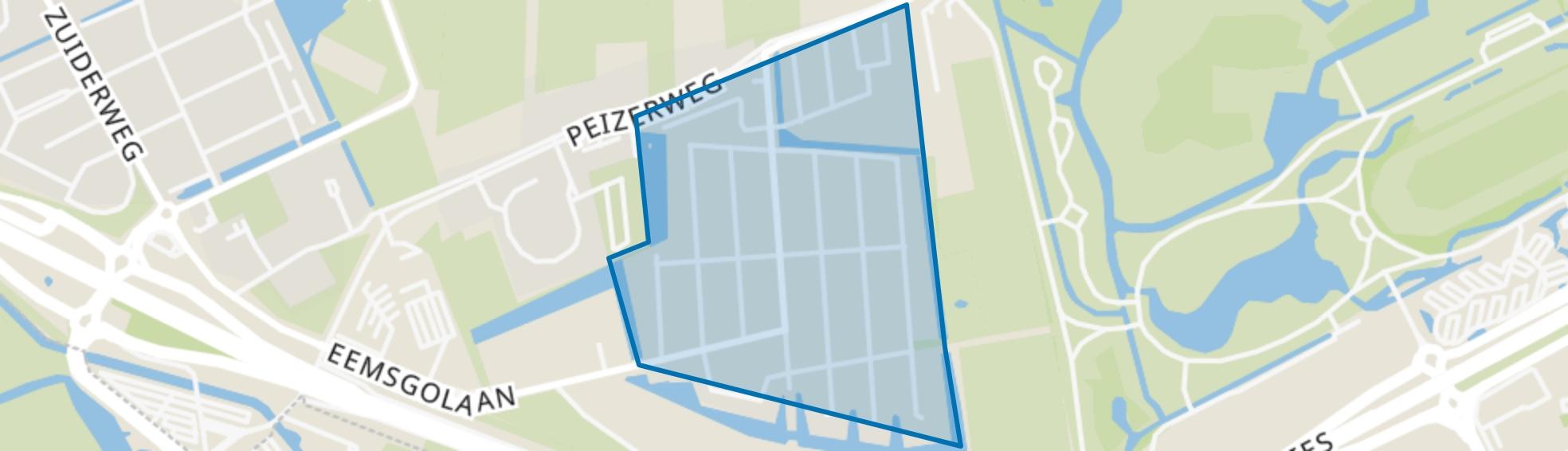 De Buitenhof, Groningen map