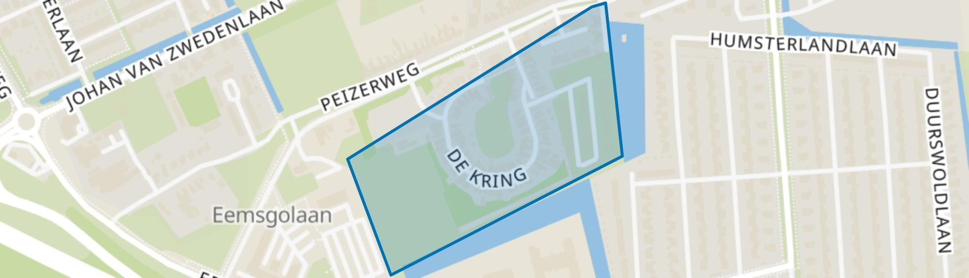 De Kring, Groningen map