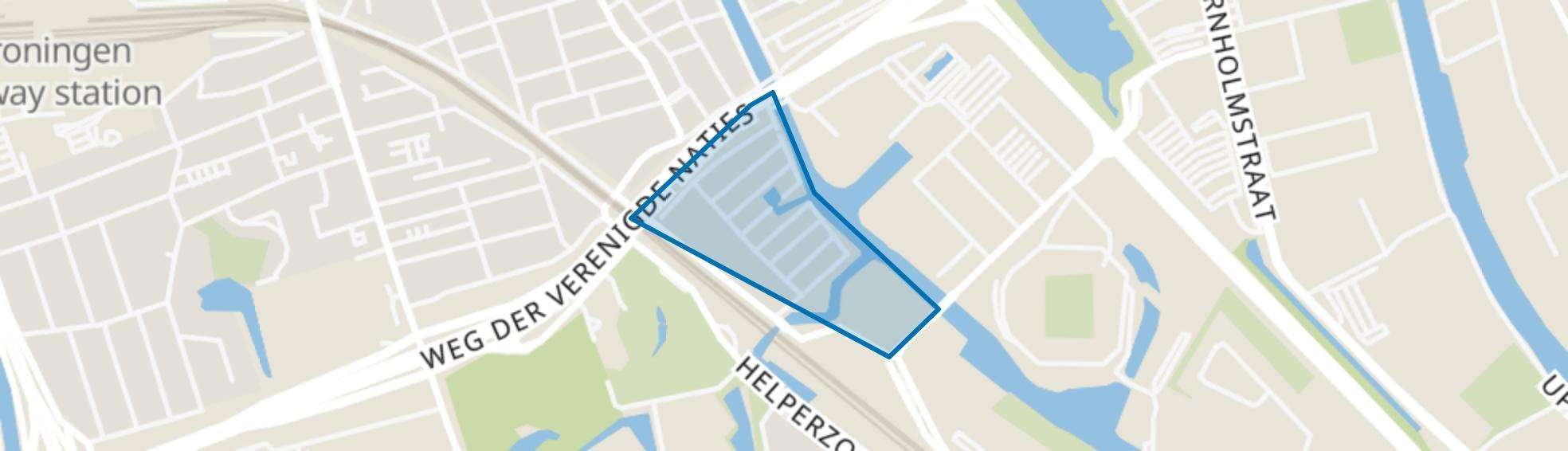 De Linie, Groningen map
