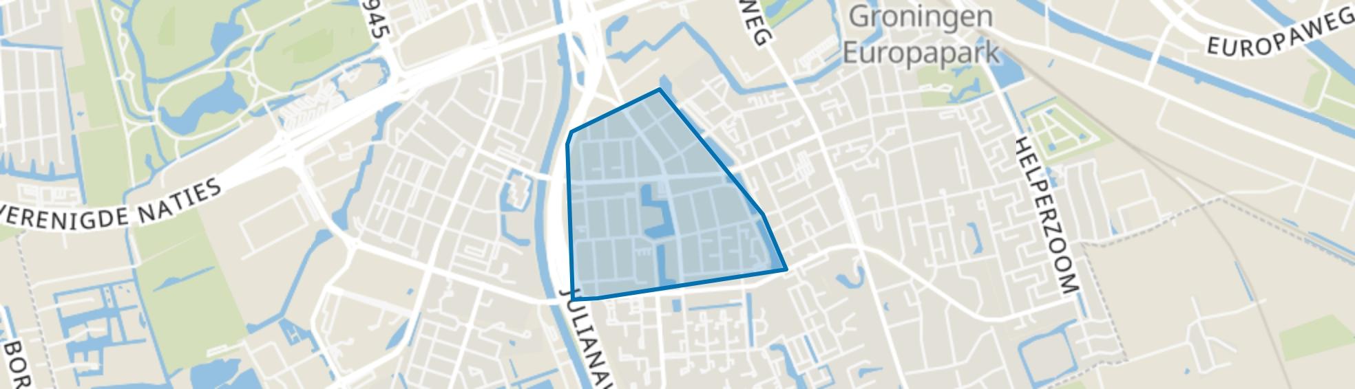 De Wijert, Groningen map