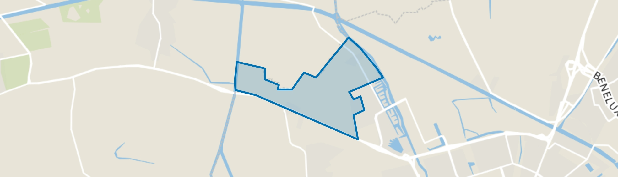 Dorkwerd, Groningen map