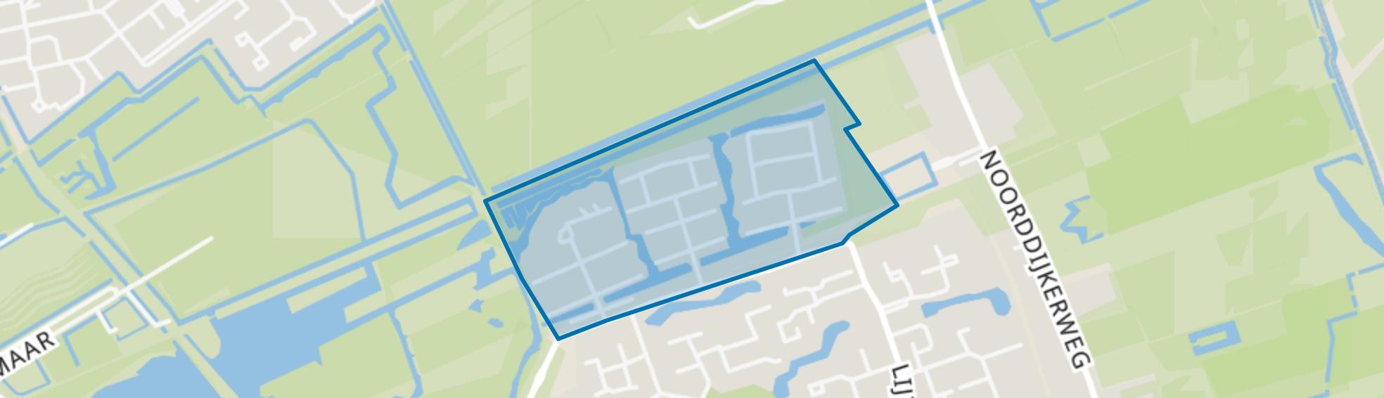 Drielanden, Groningen map