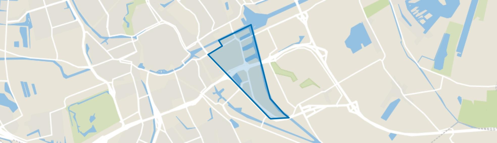 Eemskanaal, Groningen map