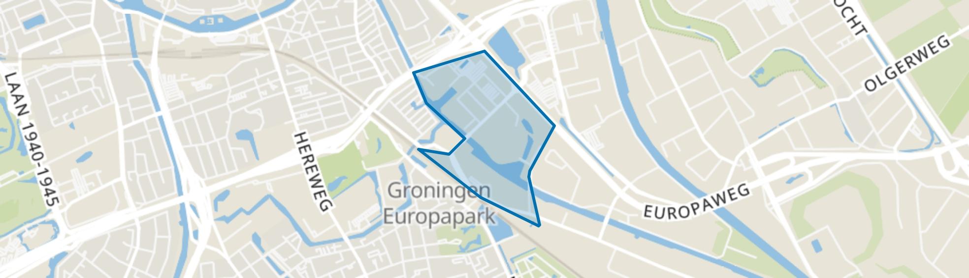 Europapark, Groningen map