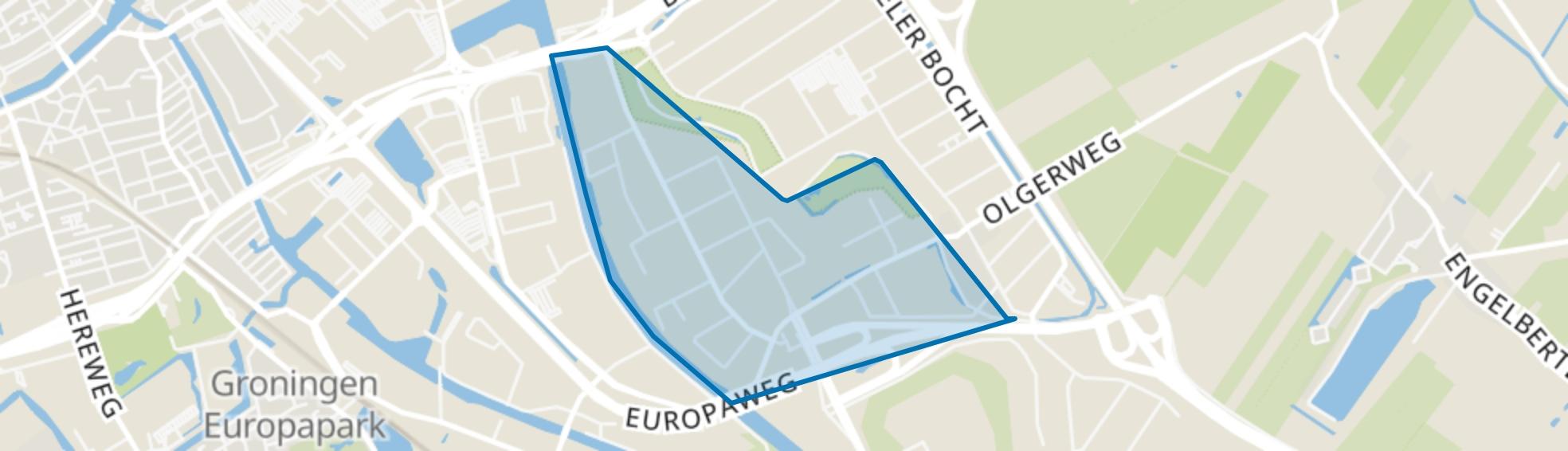 Euvelgunne, Groningen map