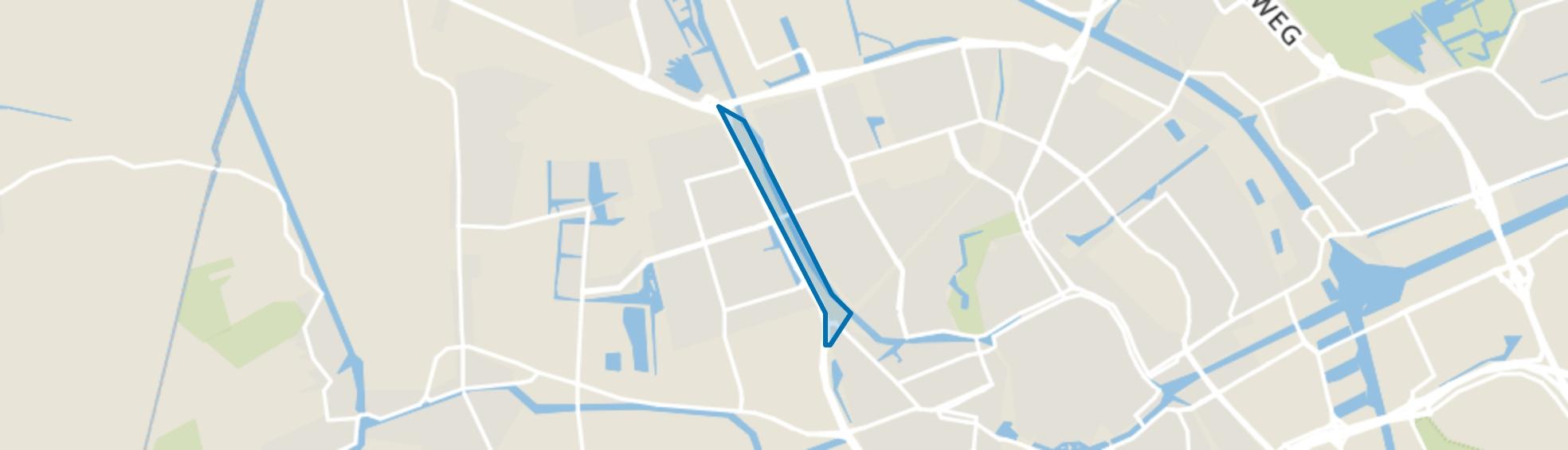 Friesestraatweg, Groningen map