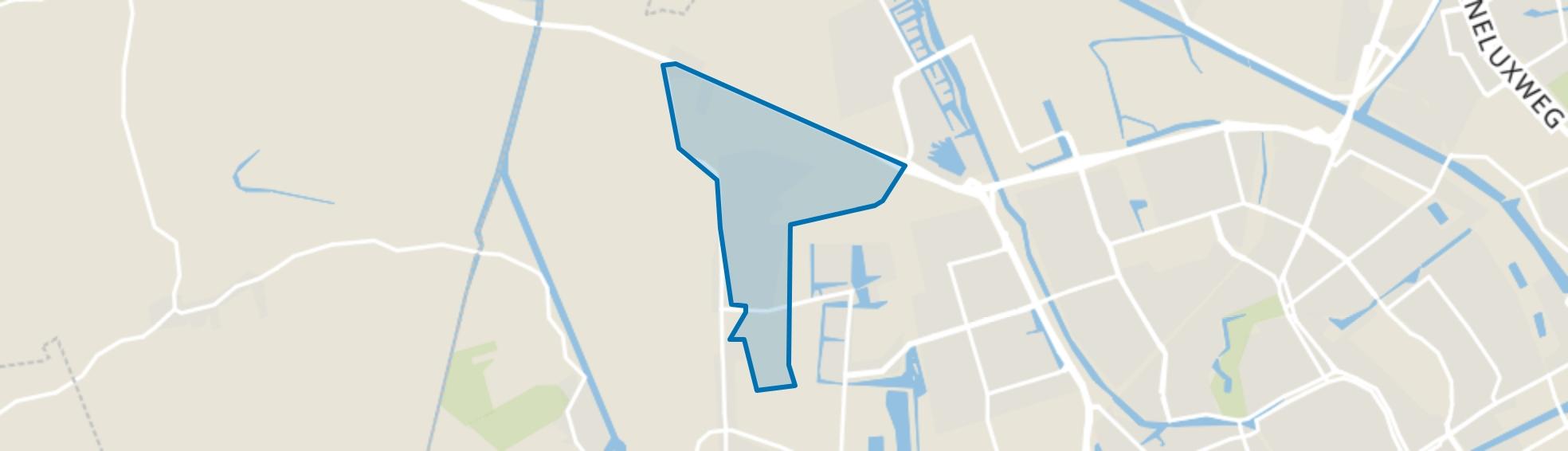 Gravenburg, Groningen map