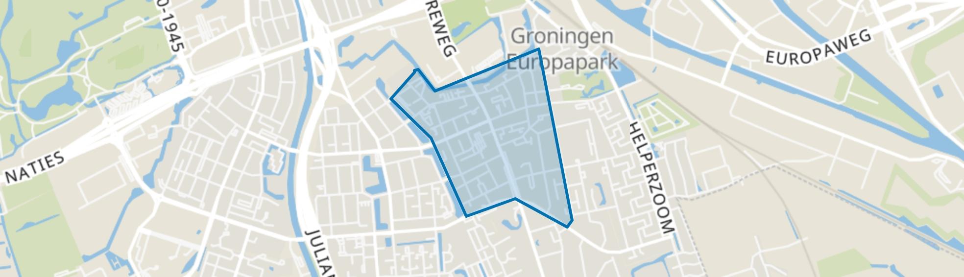 Helpman, Groningen map