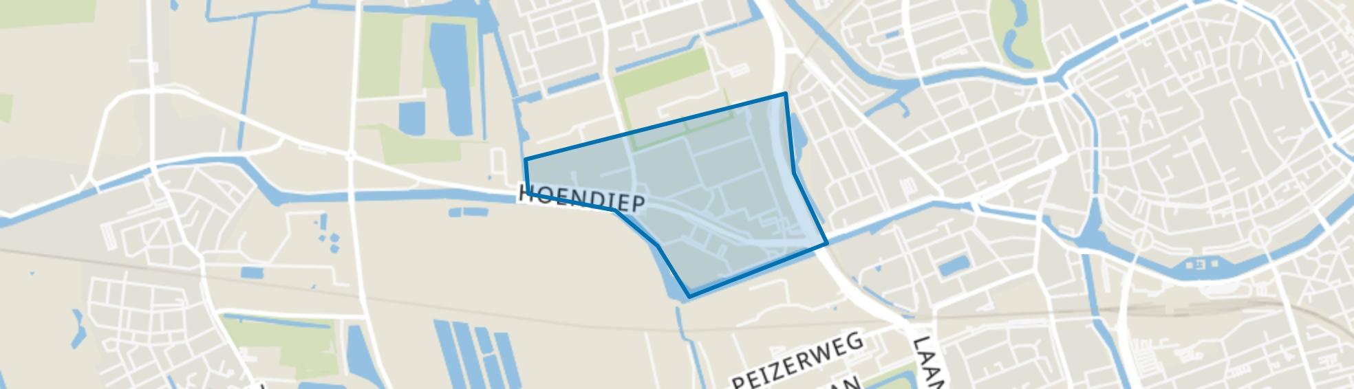 Hoendiep, Groningen map