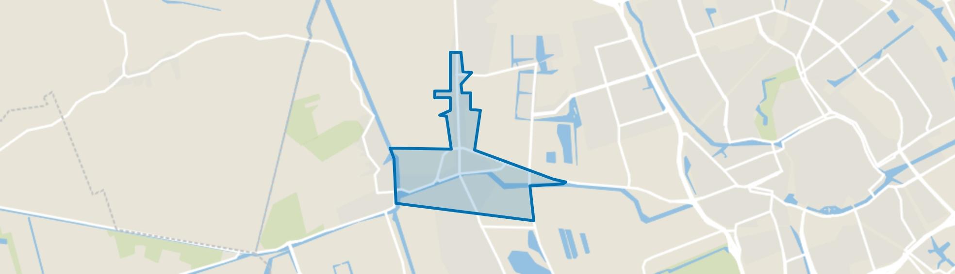 Hoogkerk Dorp, Groningen map