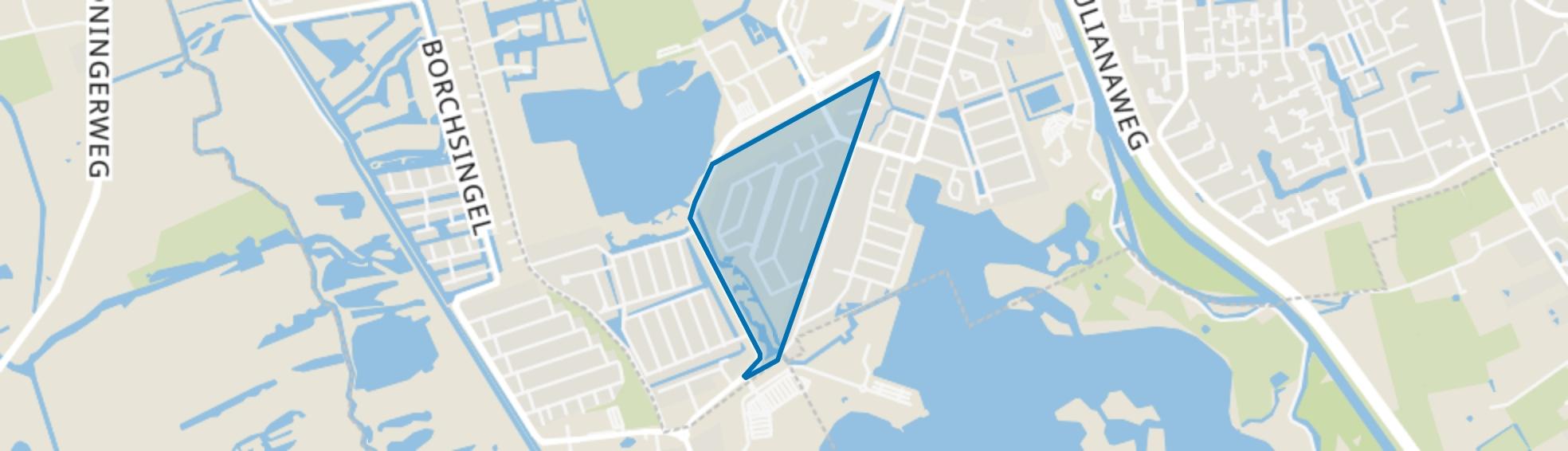 Hoornse Park, Groningen map