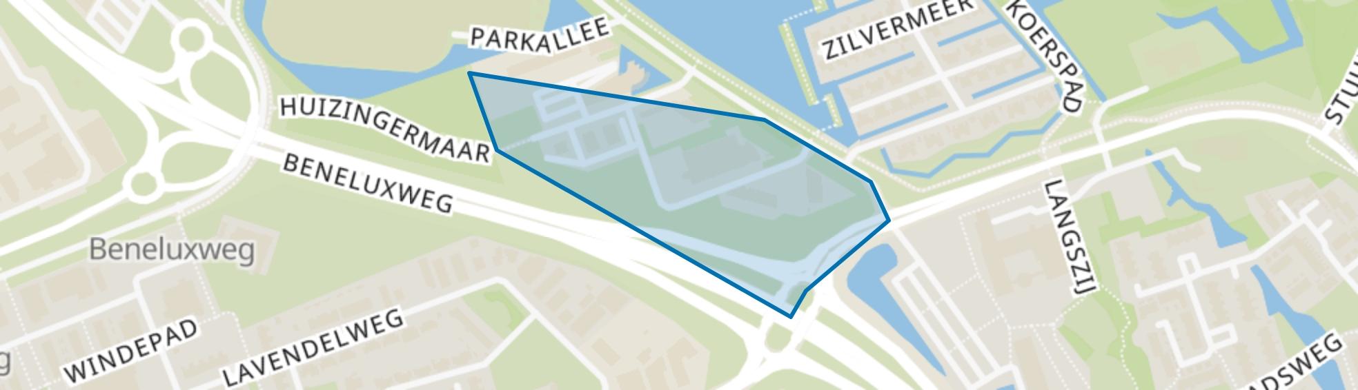 Hunzepark, Groningen map