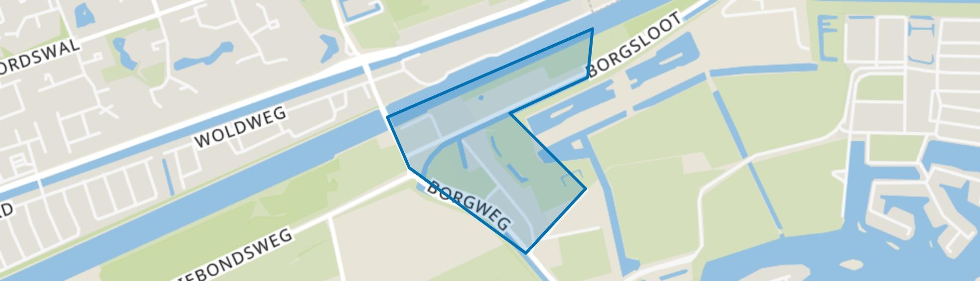 Klein Harkstede, Groningen map