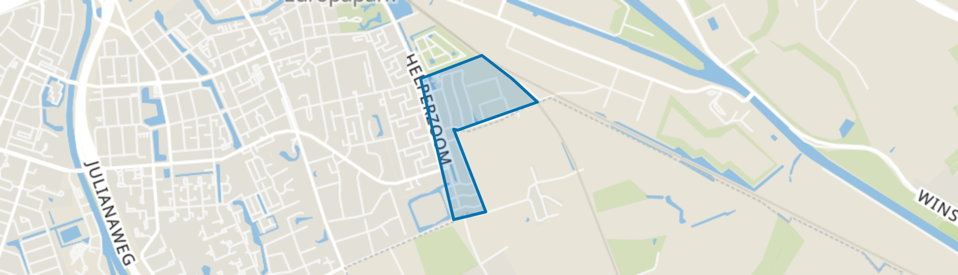 Klein Martijn, Groningen map