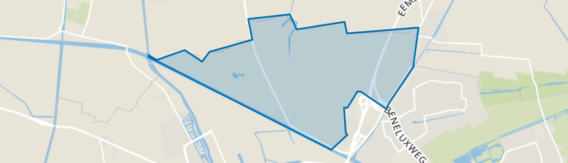 Koningslaagte, Groningen map