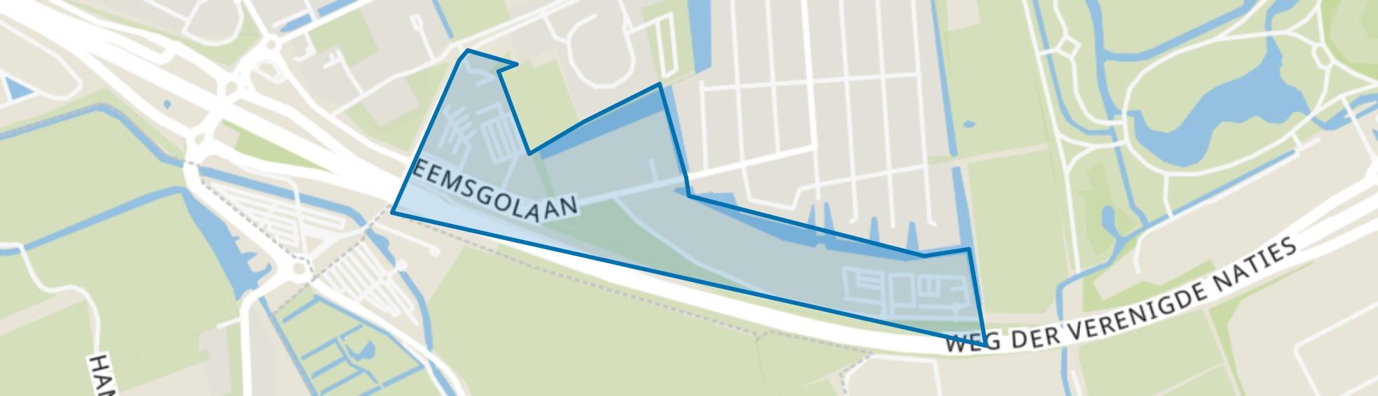 Kranenburg, Groningen map