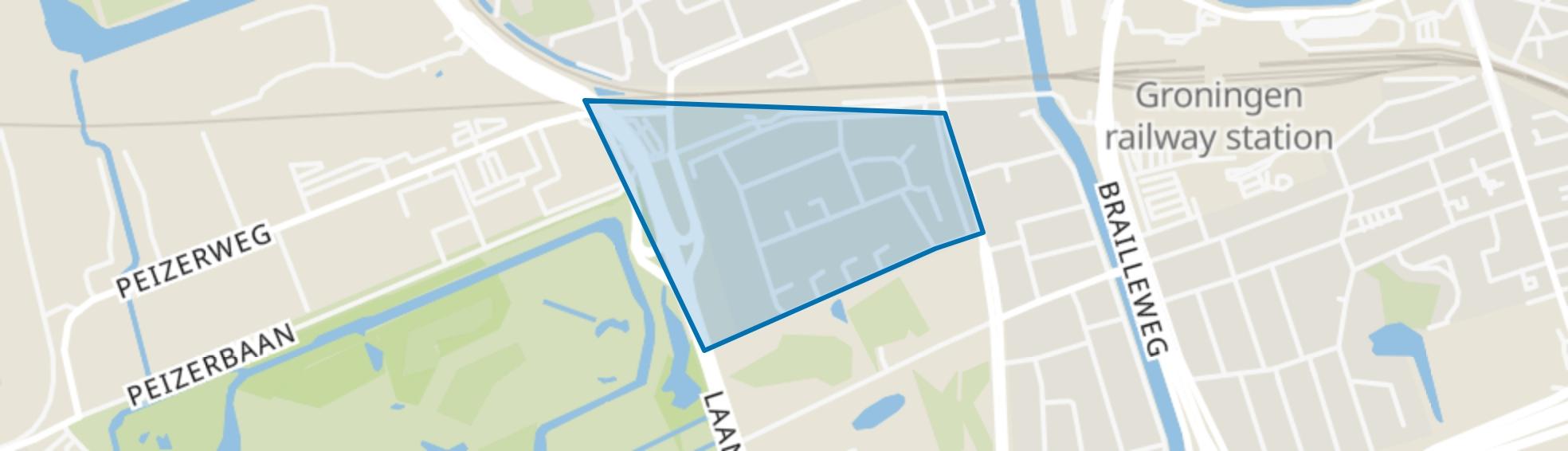 Laanhuizen, Groningen map