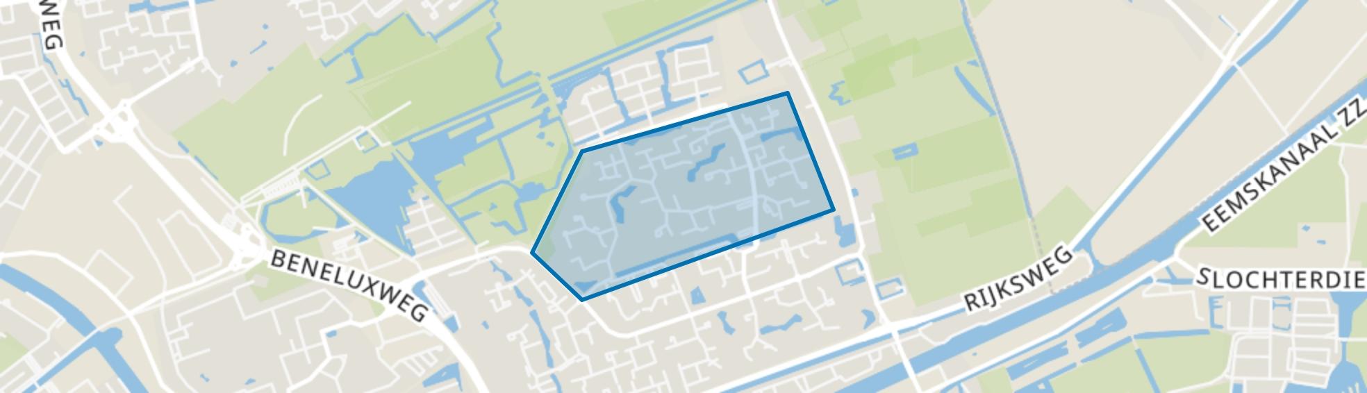 Lewenborg-Noord, Groningen map