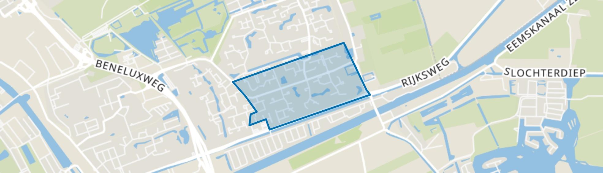 Lewenborg-Zuid, Groningen map