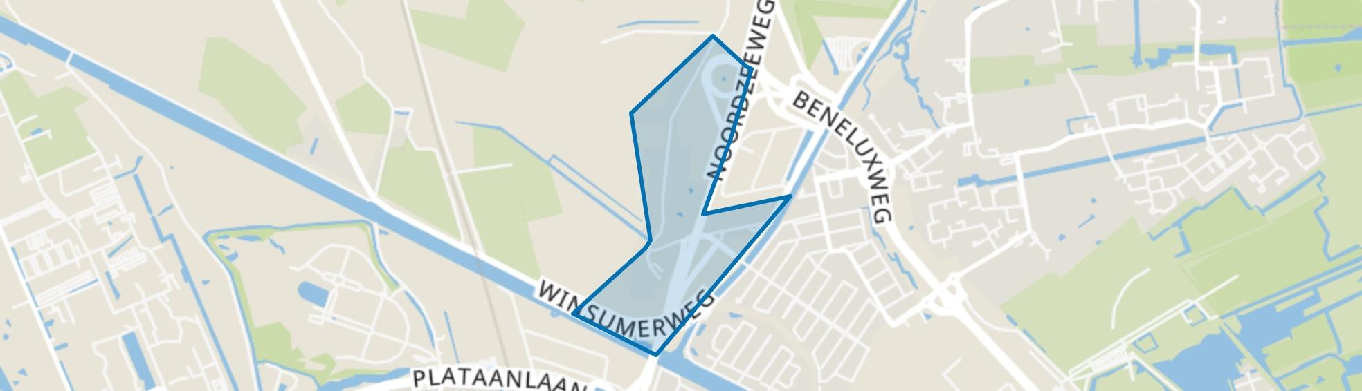 Noorderhoogebrug, Groningen map