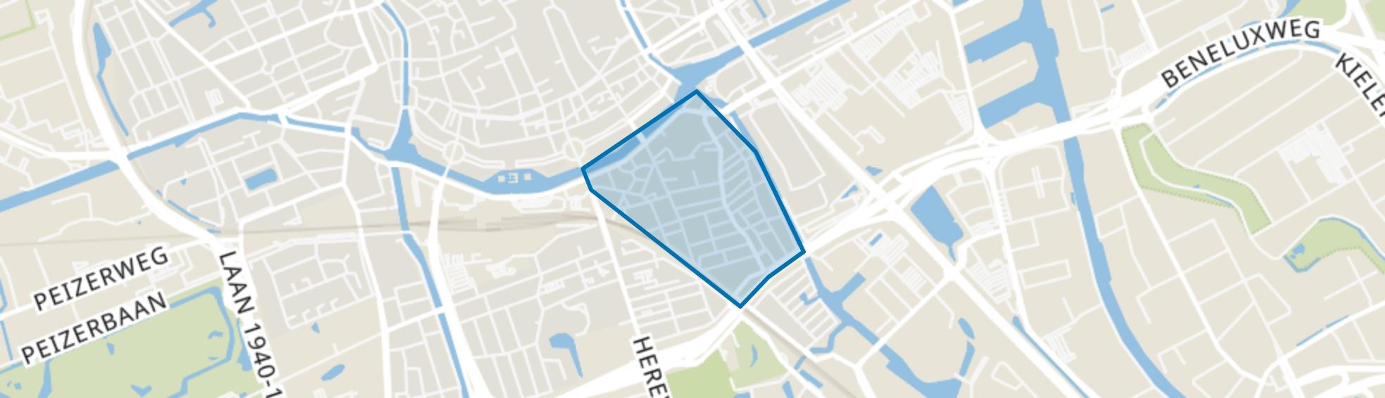 Oosterpoort, Groningen map