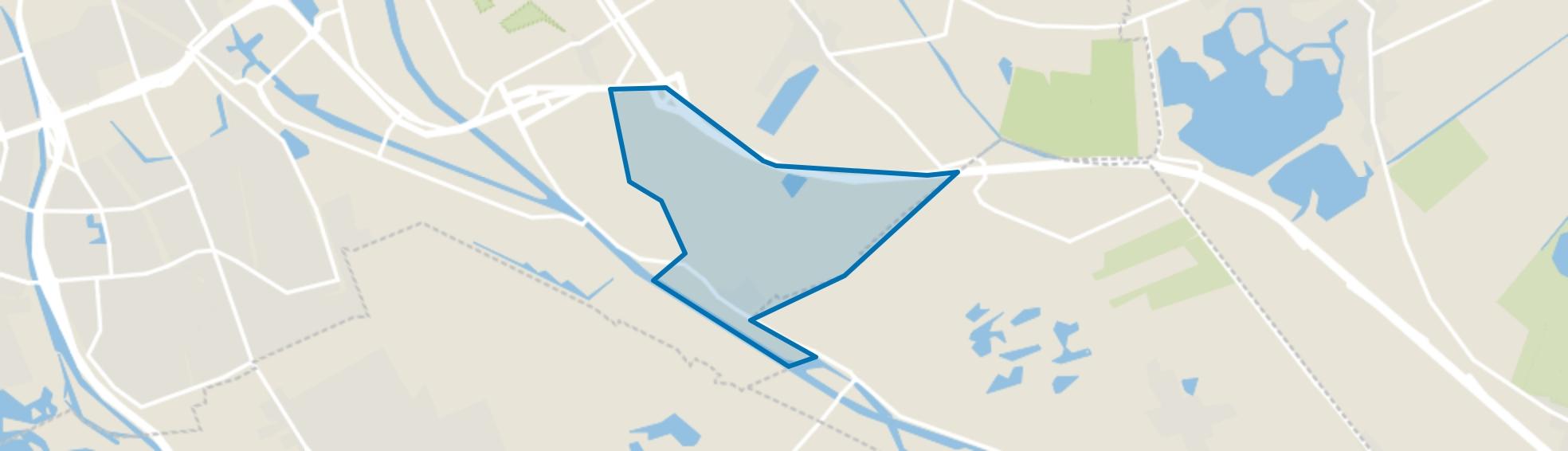 Roodehaan, Groningen map