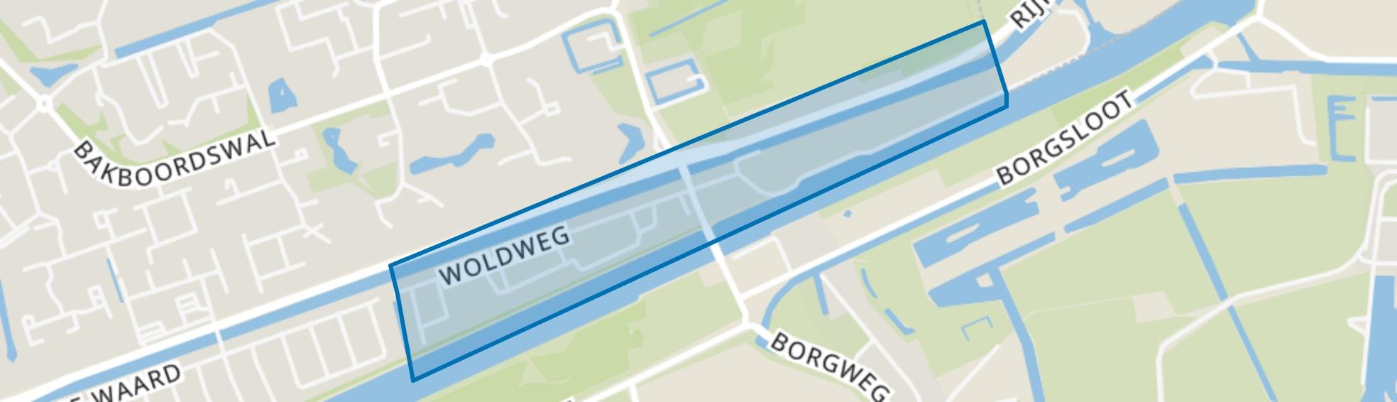 Ruischerbrug, Groningen map