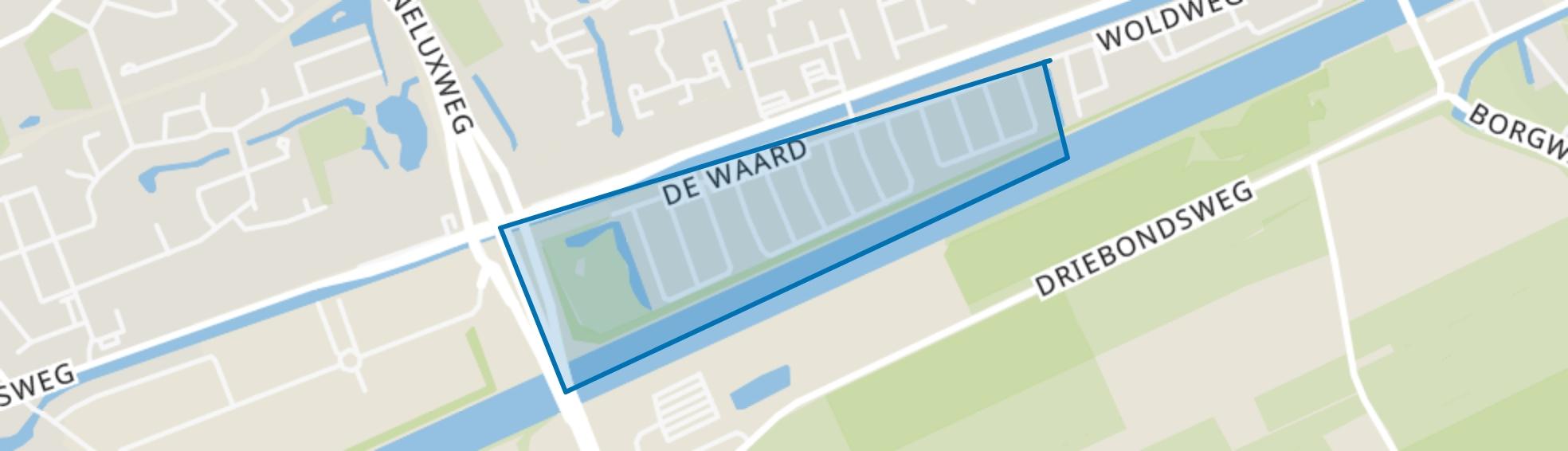 Ruischerwaard, Groningen map