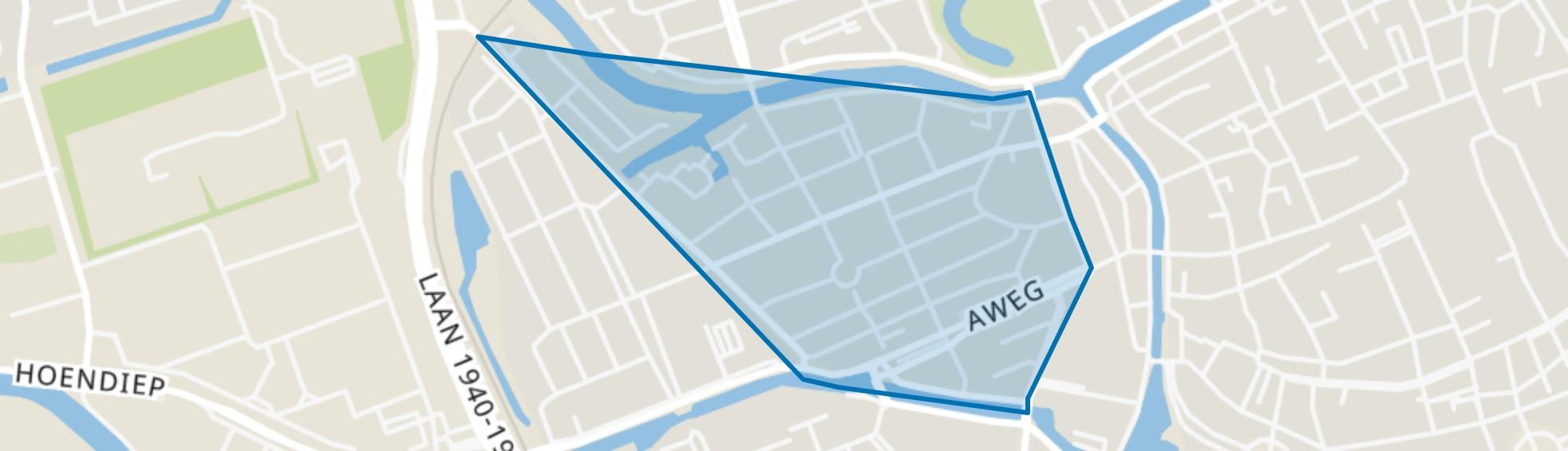 Schildersbuurt, Groningen map