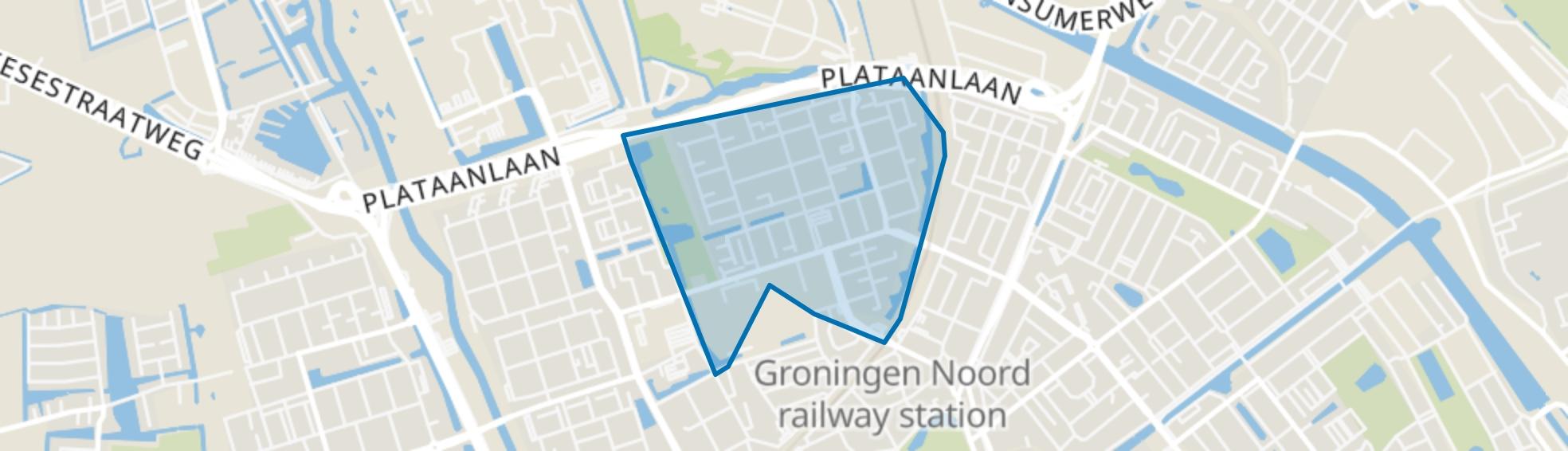Selwerd, Groningen map