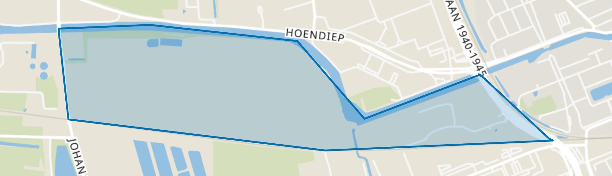 Suikerfabriekterrein, Groningen map