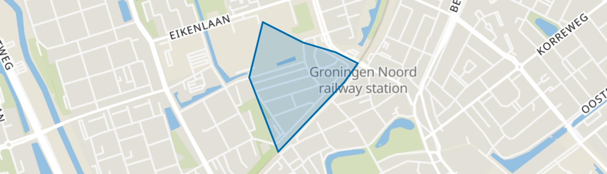 Tuinwijk, Groningen map