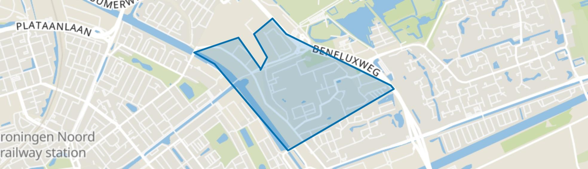 Ulgersmaborg, Groningen map