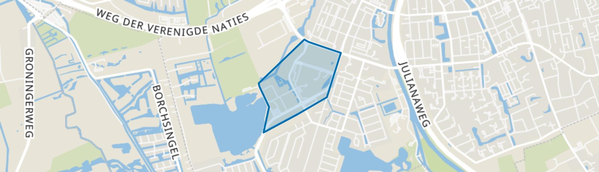 Van Swieten, Groningen map
