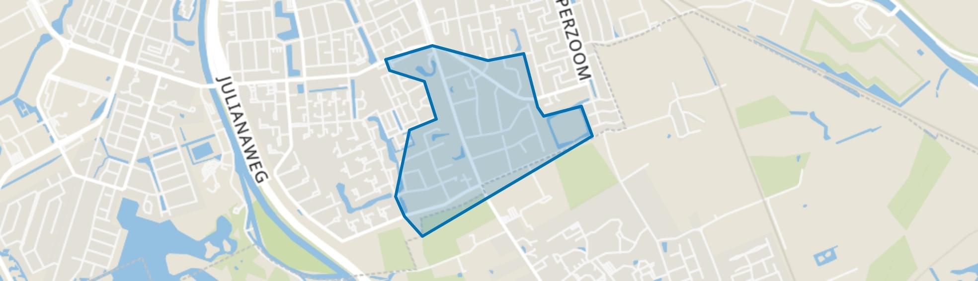 Villabuurt, Groningen map