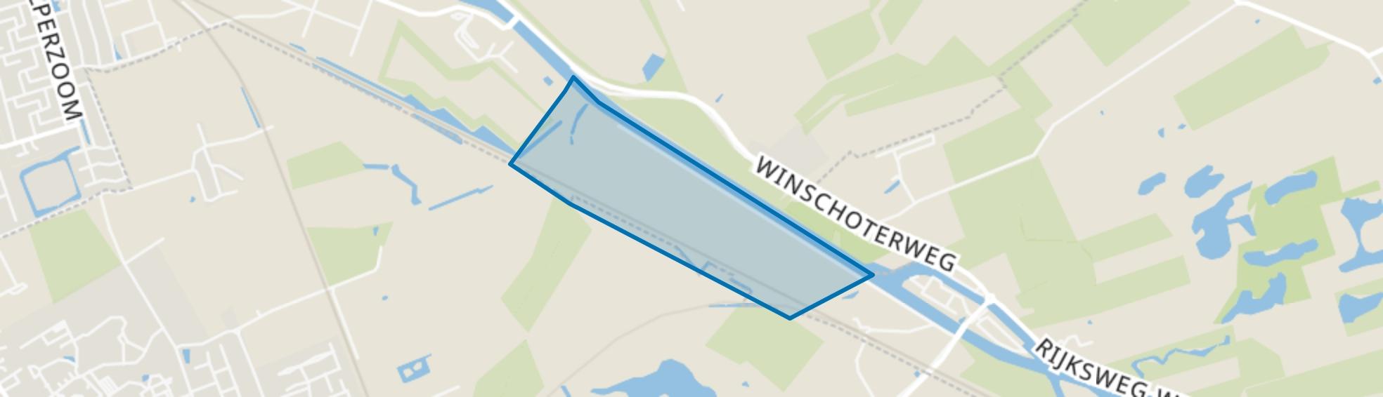 Waterhuizen, Groningen map