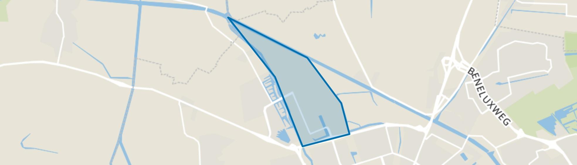 Zernike Campus, Groningen map