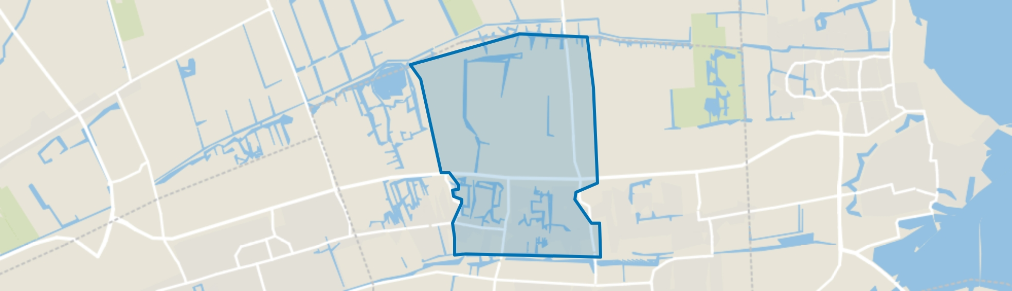 Centrum Grootebroek, Grootebroek map