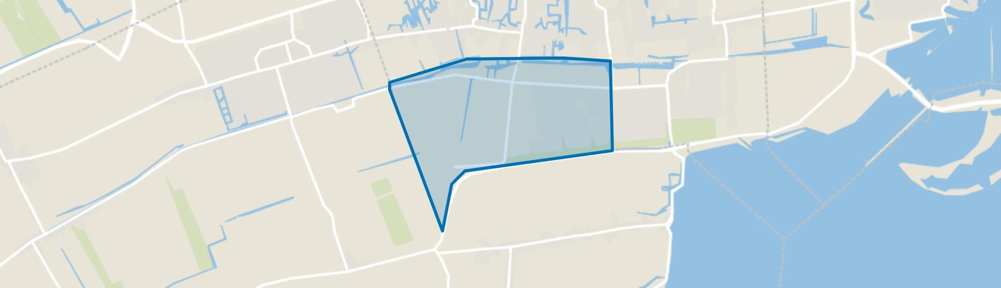 Kloosterhof en Oostersluis, Grootebroek map