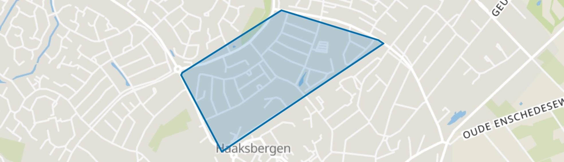 De Pas, Haaksbergen map