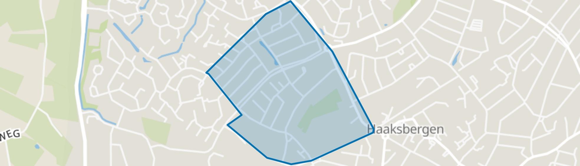 Zienesch, Haaksbergen map