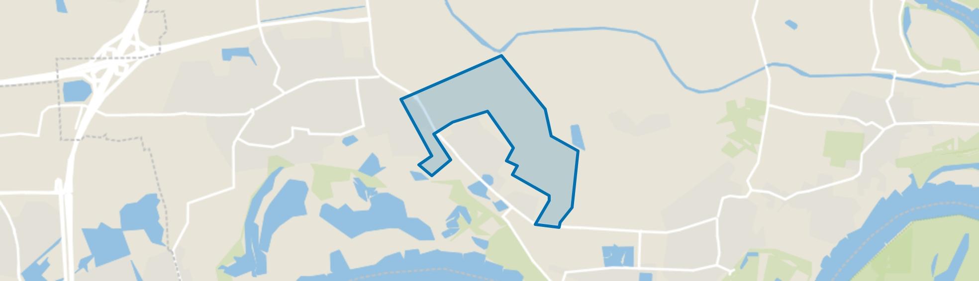 Verspreide huizen Haalderen, Haalderen map
