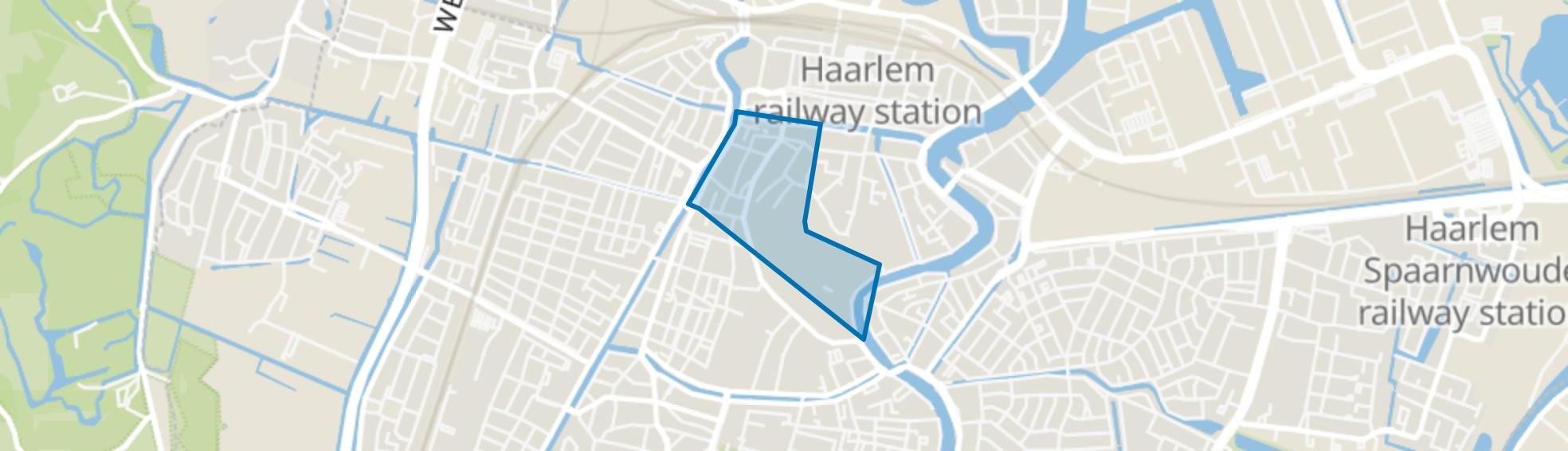 Binnenstad, Haarlem map