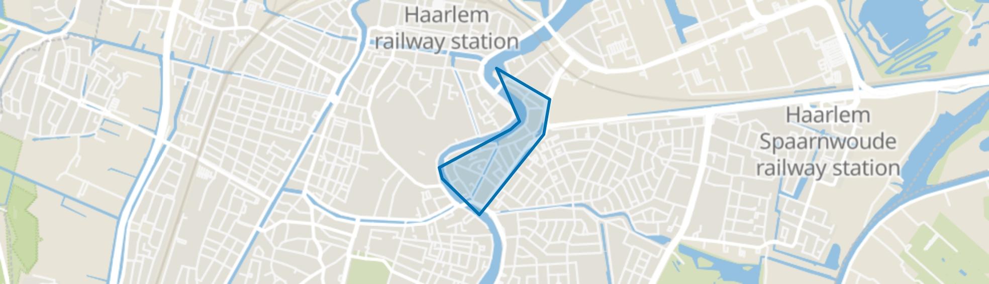 Burgwal, Haarlem map